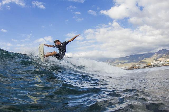 Tenerife las americas surfing