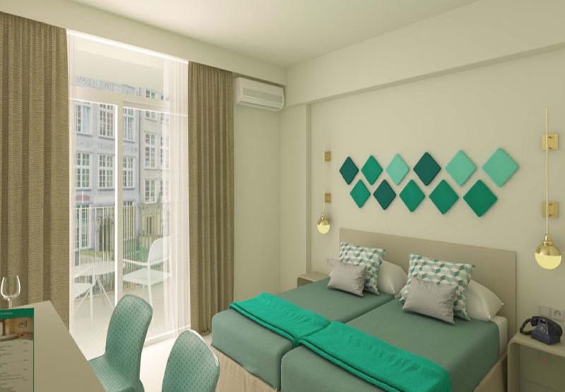 Smart Room with Balcony