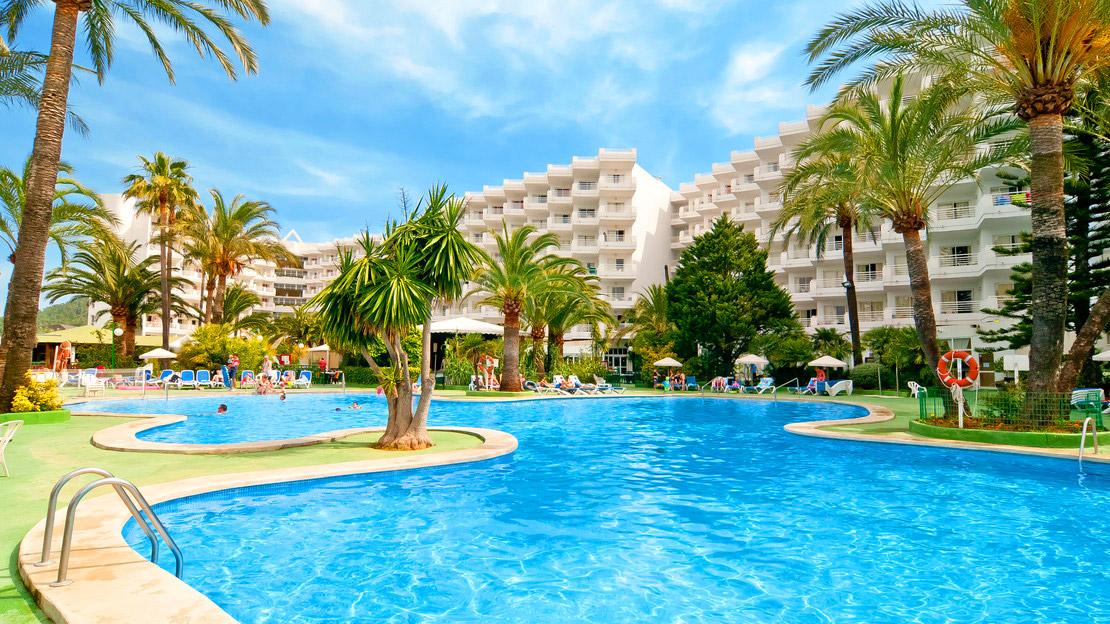 Swimming Pool at Eix Lagotel Hotel - Majorca