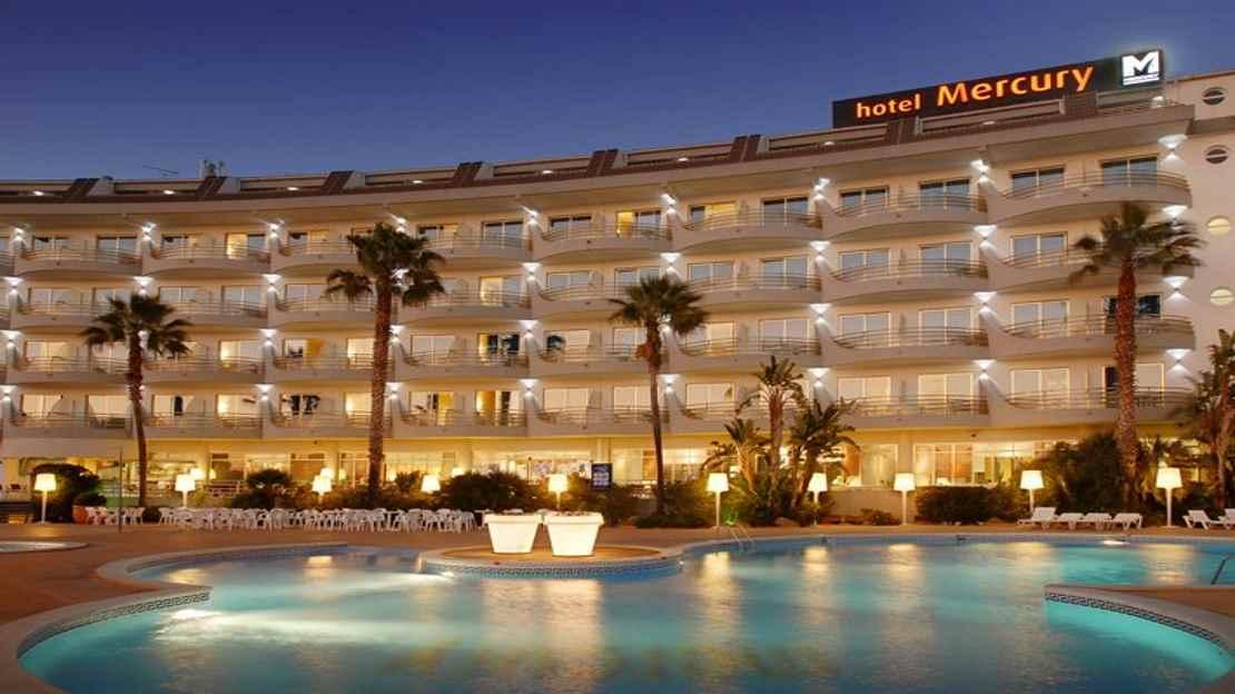 Hotel Mercury, Costa Brava