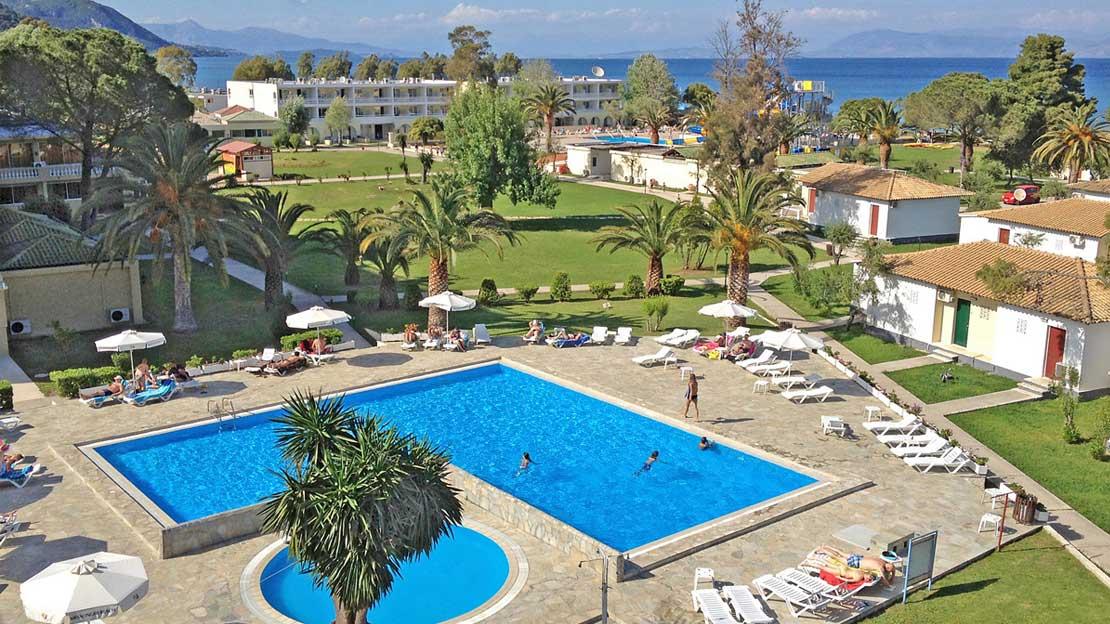 The Messonghi Beach Hotel - Corfu, Greece