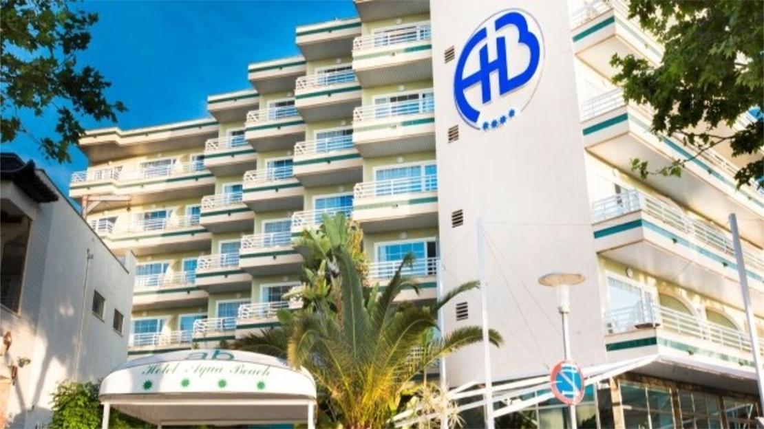 The Agua Beach Hotel - Palma Nova, Majorca