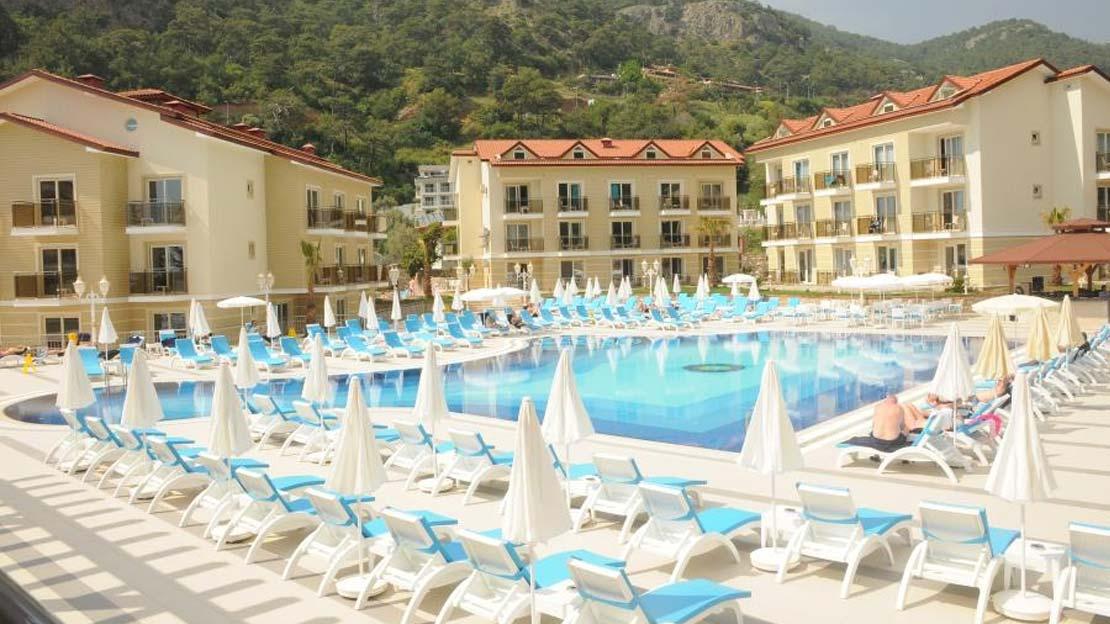 Marcan Resort Hotel in Oludeniz - Turkey