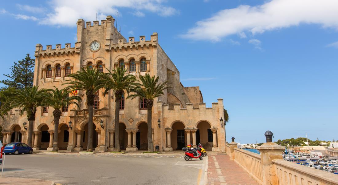ciutadella menorca town hall